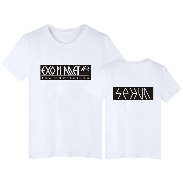 (All BIAS Names) EXOPlanet #2 Concert White T-Shirt