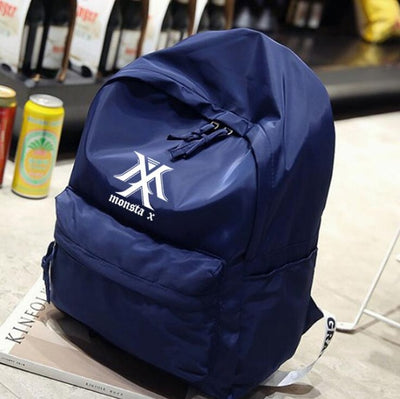 Monsta X Navy Blue Backpack