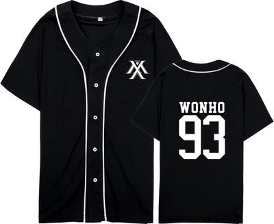 (All BIAS Names) Monsta X Baseball T-Shirt