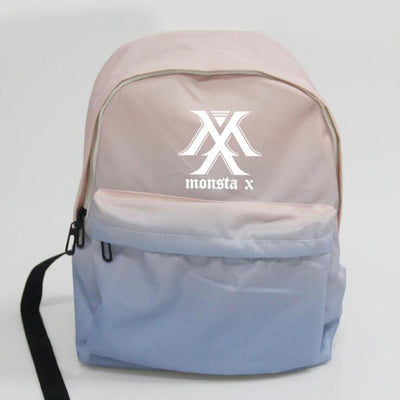 Monsta X Pink/Blue Gradient Backpack