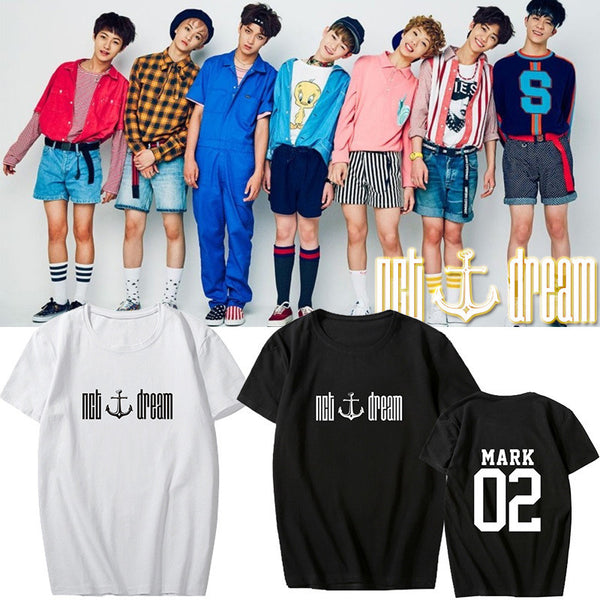 Neo Culture Technology NCT Dream ALL BIAS T-SHIRT Renjun, Jeno, Haechan, Chen Le, Jisung, Jaemin, Mark Mega K-pop