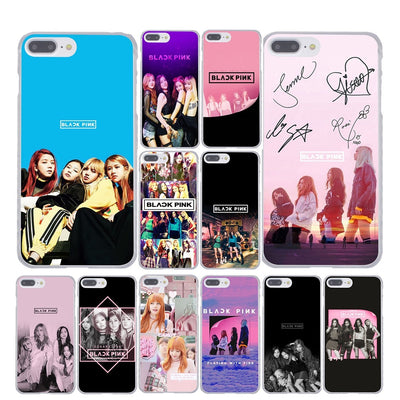 BLACK PINK BLACKPINK BLΛƆKPIИK IN YOUR AREA SQUARE ONE BIAS LISA JENNIE ROSÉ JISOO BLINK IPHONE PHONE CASE