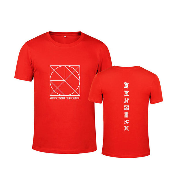 Monsta X Be Beatiful World Tour T-Shirt