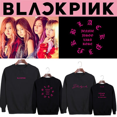 BLACK PINK BLACKPINK BLΛƆKPIИK IN YOUR AREA LISA JENNIE ROSÉ JISOO BLINK SWEATSHIRT