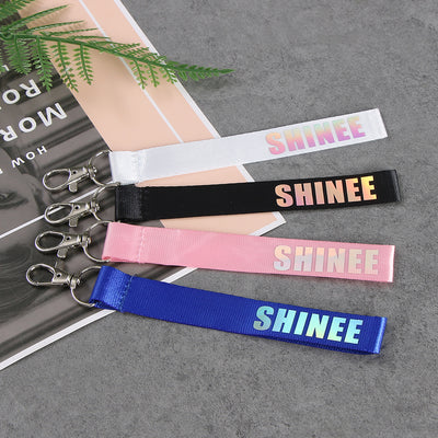 (All BIAS Names) SHINee Key Chain Strap