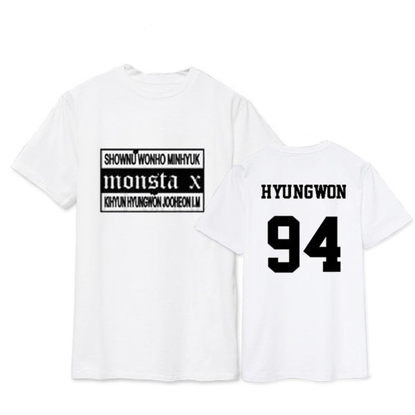 (All BIAS Names) Monsta X Japan Concert T-Shirt
