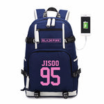 (All BIAS Names) Black Pink Backpack