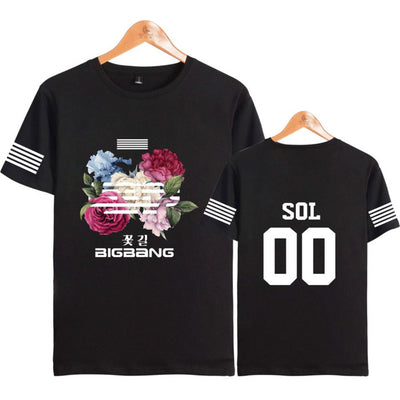 (All BIAS Names) BIGBANG Flower Road T-Shirt