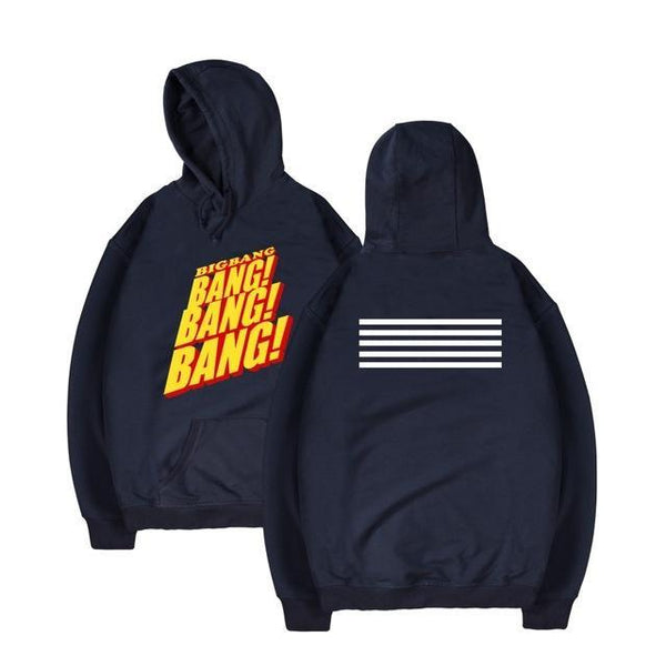 Big Bang MADE ALBUM BIGBANG BANG BANG BANG Hoodie G-Dragon T.O.P Mega K-Pop