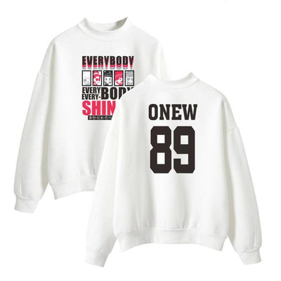 (All BIAS Names) SHINee Everybody Album Sweatshirt
