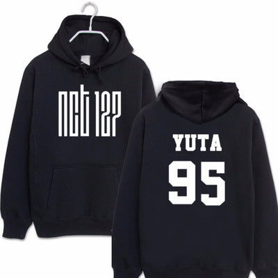 Neo Culture Technology NCT 127 ALL BIAS NAMES HOODIE Taeyong, Jaehyun, Taeil, Mark, Yuta, Haechan, WinWin Mega K-pop