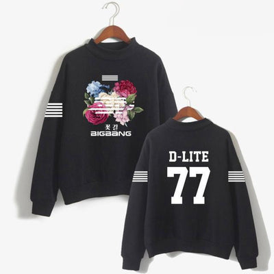Big Bang BIGBANG Flower Road Sweater Sweatshirt G-Dragon T.O.P Mega K-Pop