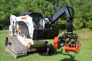 Grapple Saw Skid Steer Attachment for Bobcat $16,800