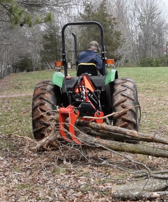 Three Point Log Grapple Attachment for Tractors $2,750