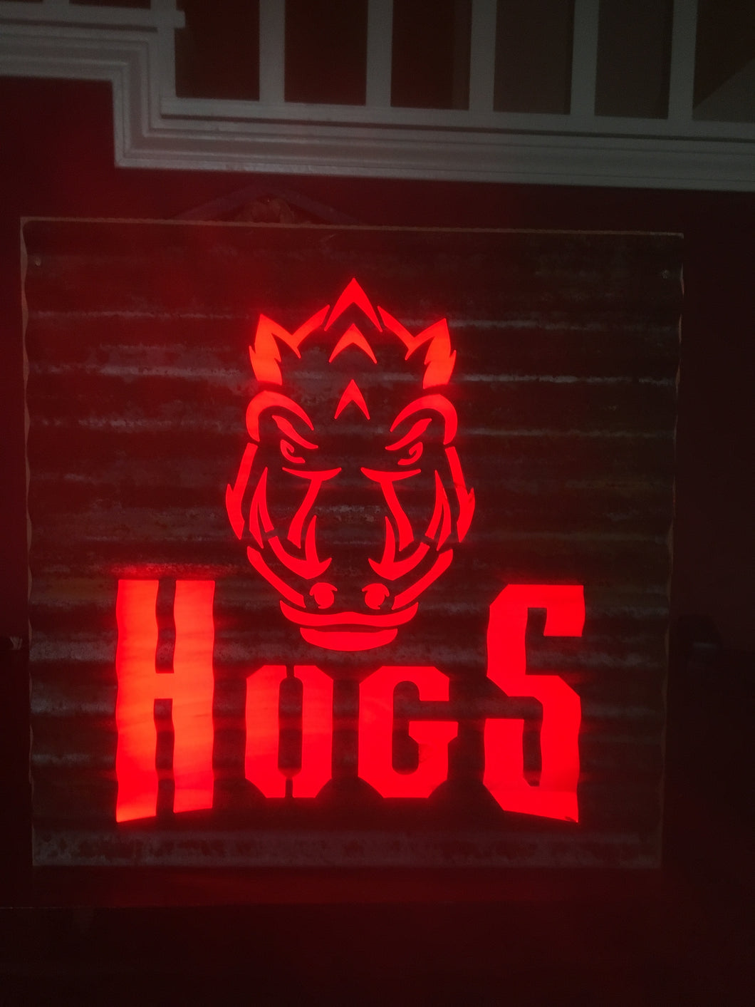 Hogs Stacked