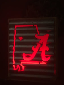 Alabama Outline A