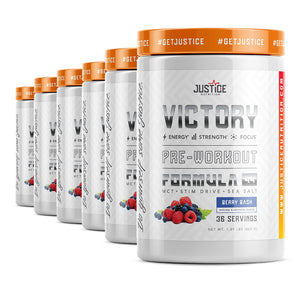 VICTORY Case of 6 Tubs - Sale for $97 Only