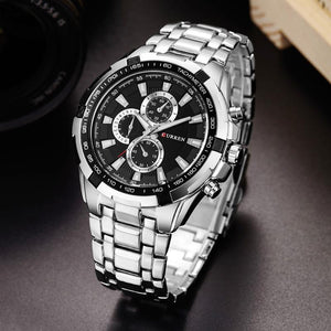 BLACK FULLMETAL - 46mm - STYL watches, proudly under 40$