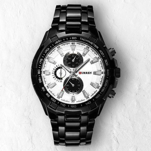 BLACK GHOST FULLMETAL - 46mm - STYL watches, proudly under 40$
