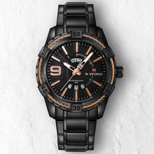 BLACK GOLD NAVY - 46mm - STYL watches, proudly under 40$