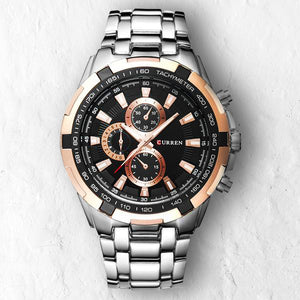 BLACK ROSE FULLMETAL - 46mm - STYL watches, proudly under 40$