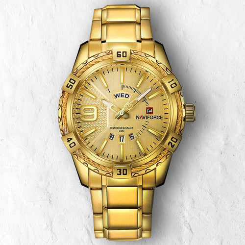 GOLD NAVY - 46mm - STYL watches, proudly under 40$