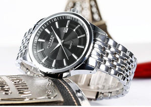 SHINY BLACK - 43mm - STYL watches, proudly under 40$