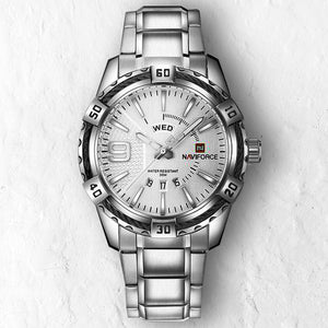 WHITE NAVY - 46mm - STYL watches, proudly under 40$