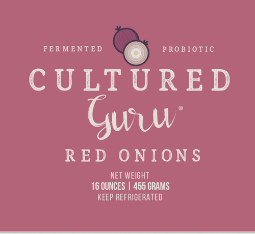 Limited Edition Fermented Red Onions (pre-order)