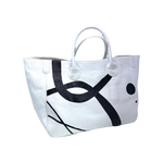Custom ABSTRACT Medium Classic Leather Beck Bag