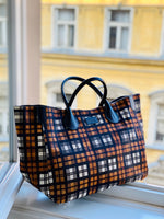 Wild Child Plaid Print Classic Tote Bag