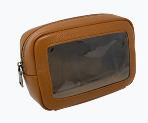 Travel Pouch Leather Beck Bag