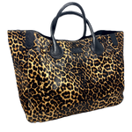 Wild Child Leopard Print Classic Tote Bag