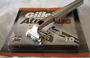 The Indomitable Gillette Atra Razor