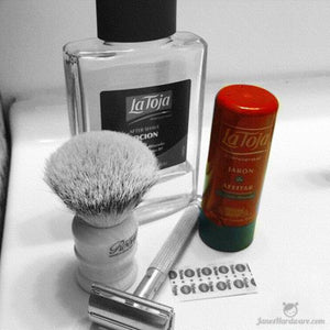 Shave of the Day - La Toja Shaving Stick