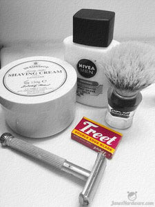 Shave of the Day - Treet Black Beauty