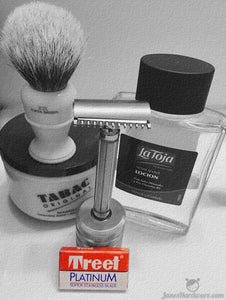 Shave of the Day - Treet Platinum