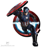 Captain American Fridge Magnet