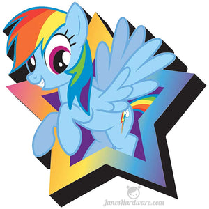 My Little Pony Rainbow Dash Fridge Magnet