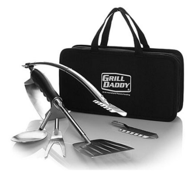 BBQ tool set-6 in one compact kit