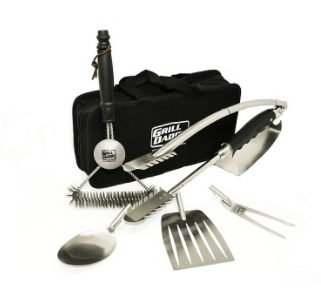 Grill Daddy Ultimate 7 In 1 Tool Set - Best Gift For Those On The Go