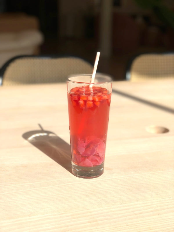 Strawberry Rose Mocktail