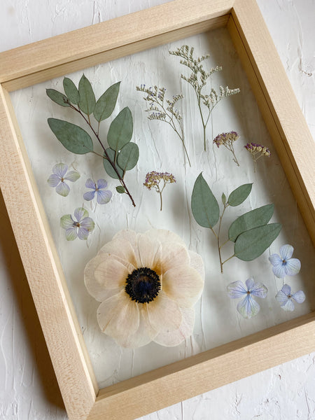Lacie RZ Porta floral preservation framing flowers beauty The Qi Flower Person Interview