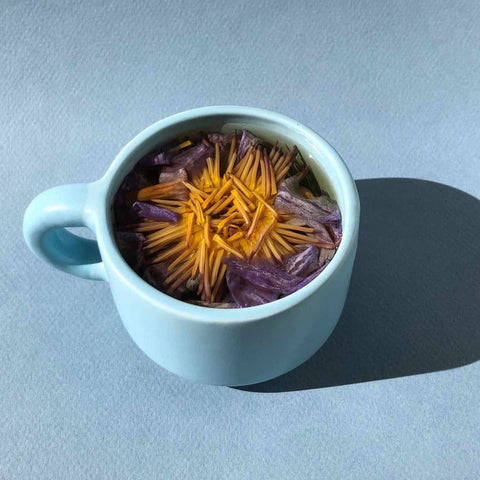 blue lotus tea as a natural sleep aid from traditional chinese medicine