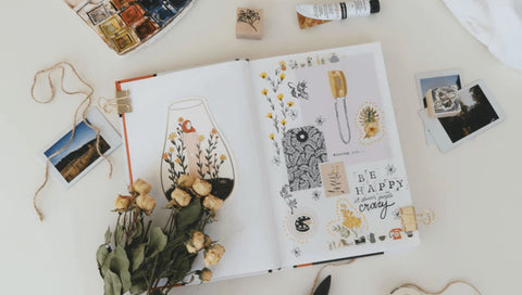 getting creative with journaling