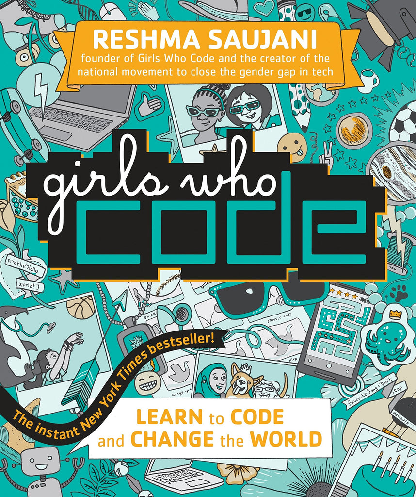 Girls Who Code Book Flower4Change Campaign