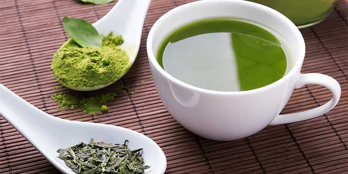 green tea herbal wellness detox