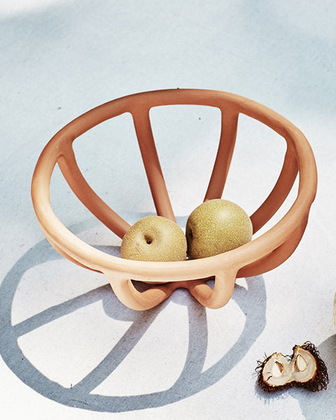 Virginia Sin Collections prong fruit bowl