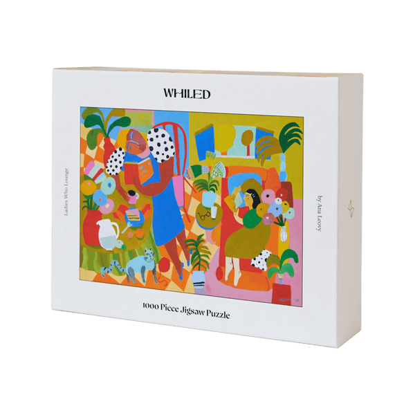 Whiled puzzle collection ladies who lounge 1000 piece