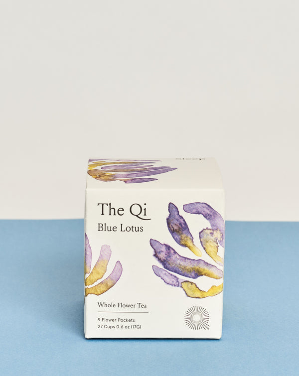 The Qi blue lotus whole flower tea